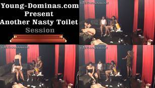 Another Nasty Toilet Sesson Part  4 Sd